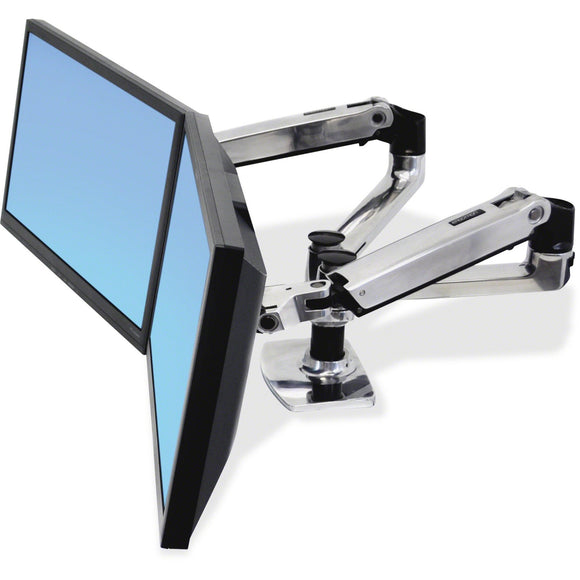 Ergotron Lx Dual Side-by-side Arm.a Fully Adjustable Side-by-side Monitor Config