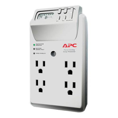 APC by Schneider Electric SurgeArrest Essential P4GC 4-Outlets Surge Suppressor