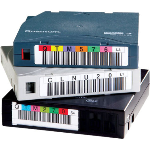 Quantum 3-05400-11 Data Cartridge Barcode Label