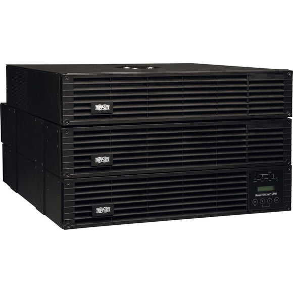 Tripp Lite UPS Smart Online 6000VA 5400W Rackmount 6kVA 208-240-120V USB DB9 Manual Bypass Hot Swap 6URM