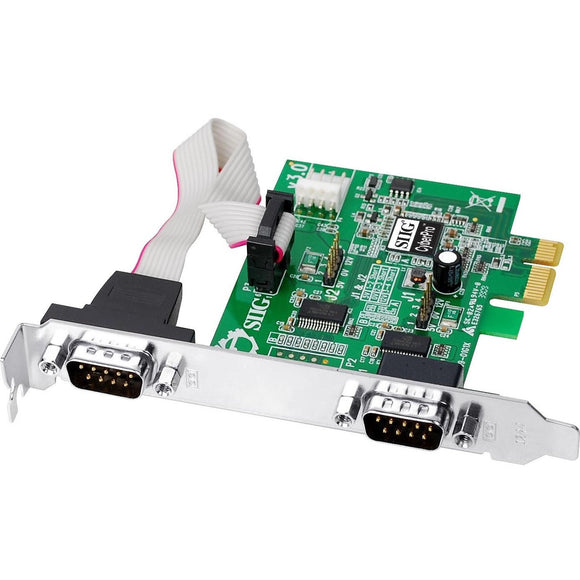 SIIG CyberSerial 2-port PCI Express Serial Adapter