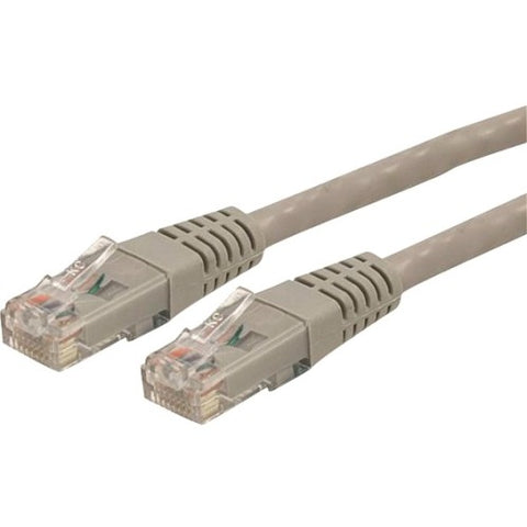 StarTech.com 50 ft Gray Molded Cat6 UTP Patch Cable - ETL Verified - SystemsDirect.com
