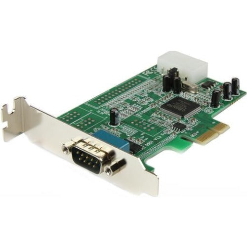 StarTech.com 1 Port Low Profile PCI Express Serial Card - 16550