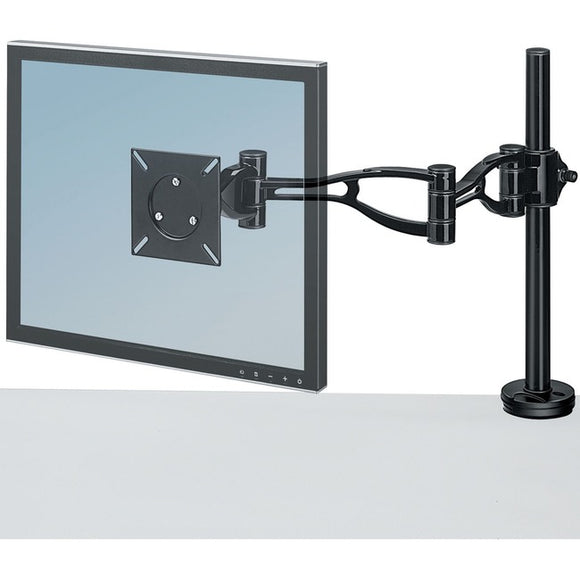 Fellowes, Inc. The Fellowes Depth Adjustable Monitor Arm Adjusts Easily In Every Way For Optimu