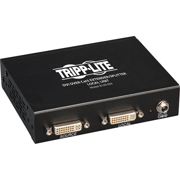 Tripp Lite DVI Over Cat5-Cat6 Video Extender Splitter 4-Port Transmitter 200'