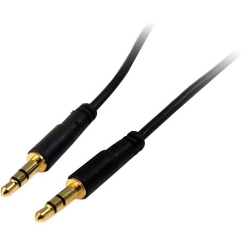 StarTech.com 6 ft Slim 3.5mm Stereo Audio Cable - M-M