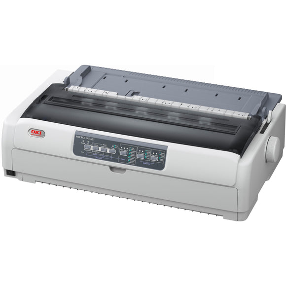 Oki MICROLINE 691 24-pin Dot Matrix Printer - Monochrome