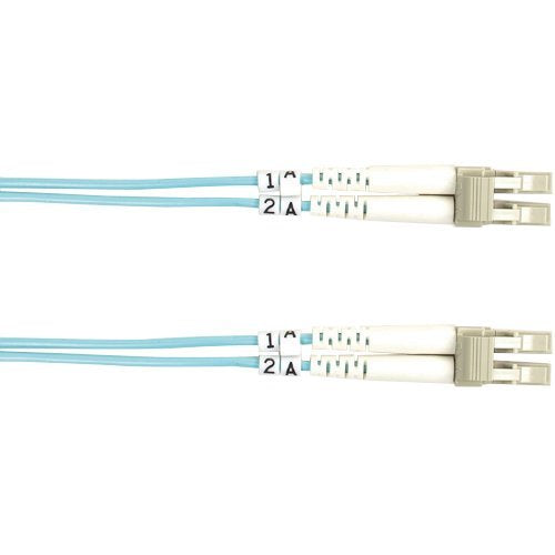 Black Box 10-GbE 50-Micron Multimode Value Line Patch Cable, LC-LC, 2-m (6.5-ft.)