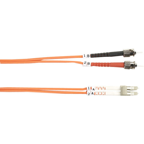 Black Box 62.5-Micron Multimode Value Line Patch Cable, ST-LC, 5-m (16.4-ft.)