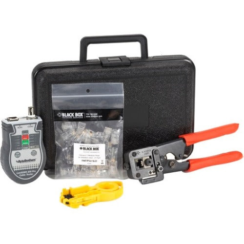 Black Box CAT5 Termination Kit, Solid Wire