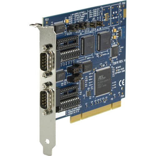 Black Box RS-232-422-485 PCI Card, 2-Port, 16550 UART
