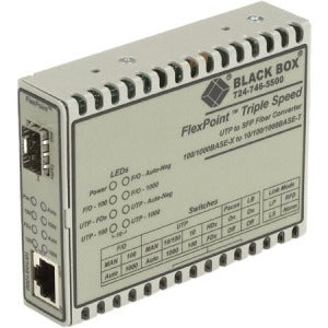 Black Box FlexPoint LMC1017A-SFP Transceiver-Media Converter