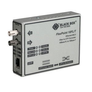 Black Box FlexPoint Ethernet Media Converter