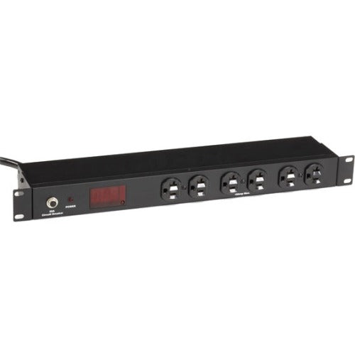 Black Box Metered Rackmount PDU with Front and Rear Outlets