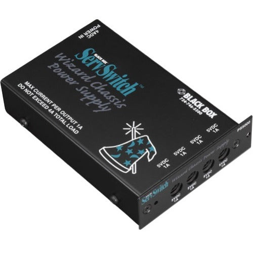 Black Box Rackmountable Power Distribution Module, For up to (4) Extenders