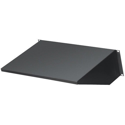 Black Box Network Services Rackmount Solid Fixed Shelf, 12in Deep,
