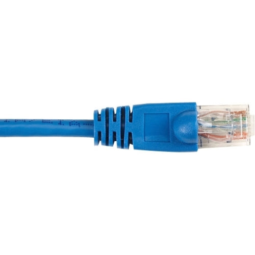 Black Box CAT6 Value Line Patch Cable, Stranded, Blue, 7-ft. (2.1-m), 25-Pack