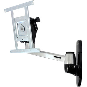 Ergotron Lx Hd Wall Mount Swing Arm.offers A Flexible Alternative To Rigid Wall