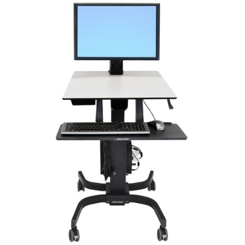 Ergotron WorkFit-C Single HD Sit Stand Workstation