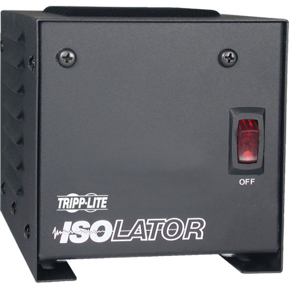 Tripp Lite Isolation Transformer 250W Surge 120V 2 Outlet 6' Cord TAA GSA