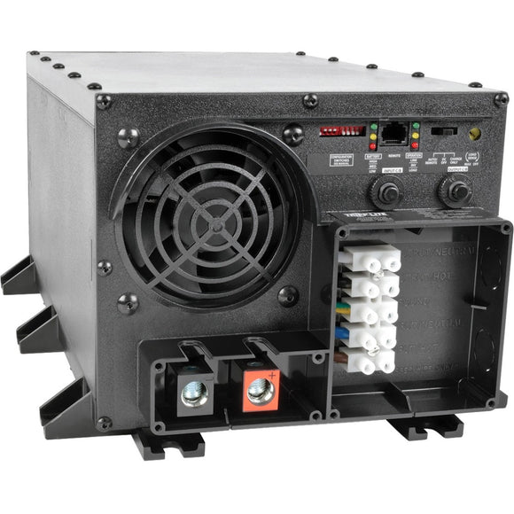 Tripp Lite 2400W APS INT 24VDC 230V Inverter - Charger w- Auto Transfer Switching ATS Hardwired