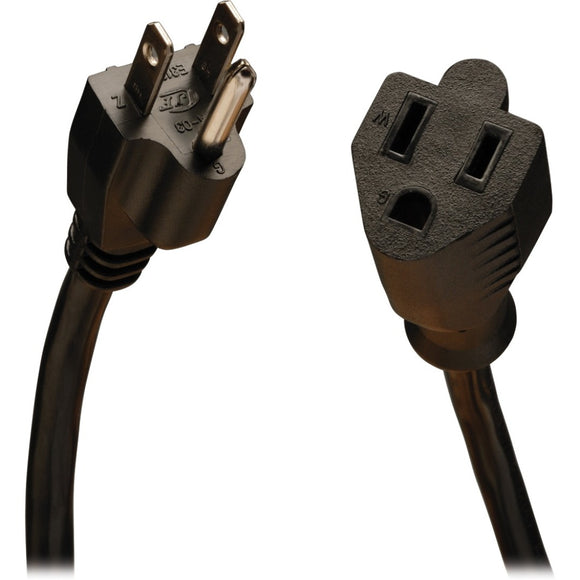 Tripp Lite 15ft Power Cord Extension Cable 5-15P to 5-15R 10A 18AWG 15'