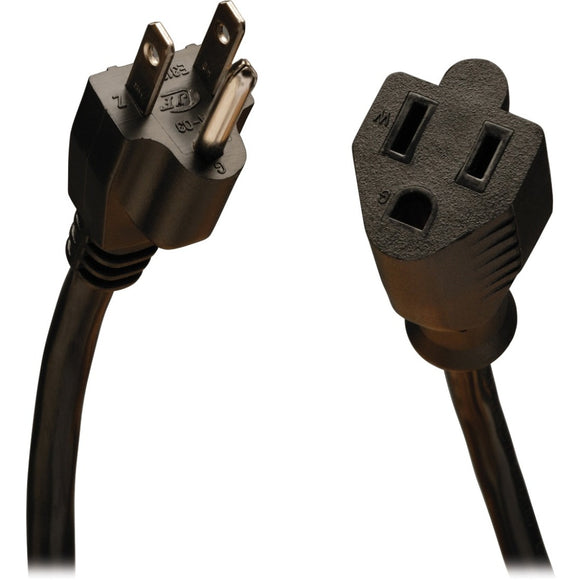 Tripp Lite 25ft Power Cord Extension Cable 5-15P to 5-15R 10A 18AWG 25'