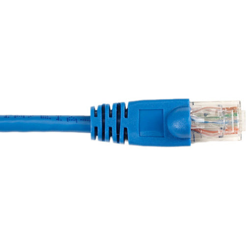 Black Box CAT6 Value Line Patch Cable, Stranded, Blue, 7-ft. (2.1-m)