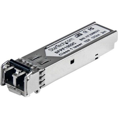 StarTech.com Cisco GLC-FE-100FX Compatible SFP Module - 100BASE-FX Fiber Optical SFP Transceiver - Lifetime Warranty - 100 Mbps - Maximum Transfer Distance: 2 km (1.2 mi)