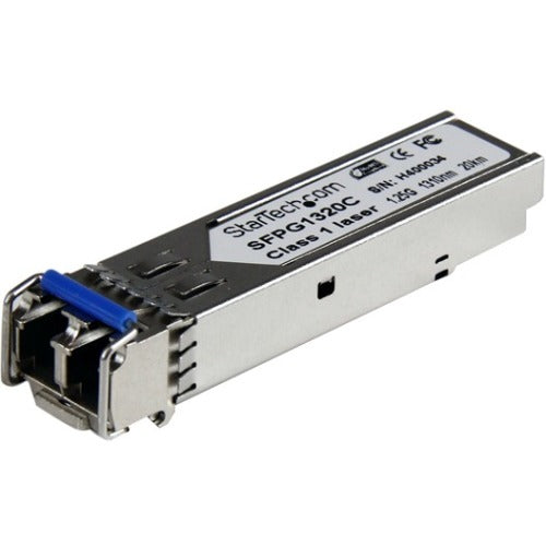 StarTech.com Cisco GLC-LH-SMD Compatible SFP Module - 1000BASE-LH Fiber Optical SFP Transceiver - Lifetime Warranty - 1 Gbps - Maximum Transfer Distance: 20 km (12.4 mi)