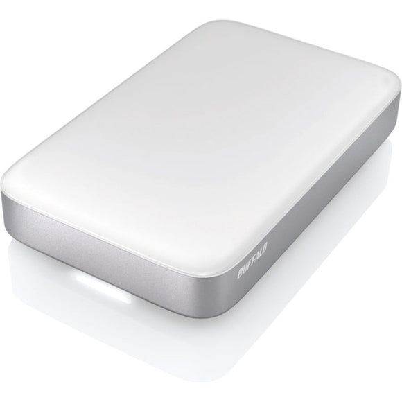 BUFFALO MiniStation Thunderbolt USB 3.0 1 TB Portable Hard Drive (HD-PA1.0TU3)