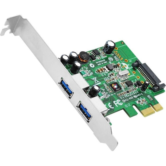 Siig, Inc. Dual Profile Pcie Adapter With 2 Usb 3.0 Ports