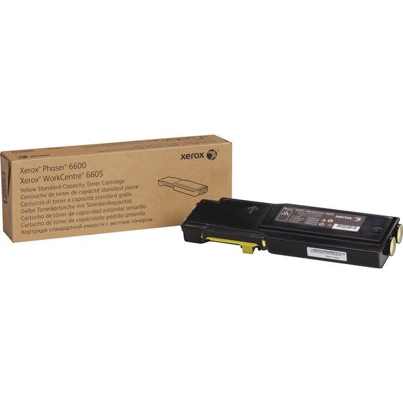 Xerox Std Cap Toner Cartridge Yellow 6600-6605