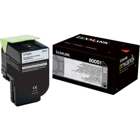 Lexmark Black Standard Yield Toner Cartridge