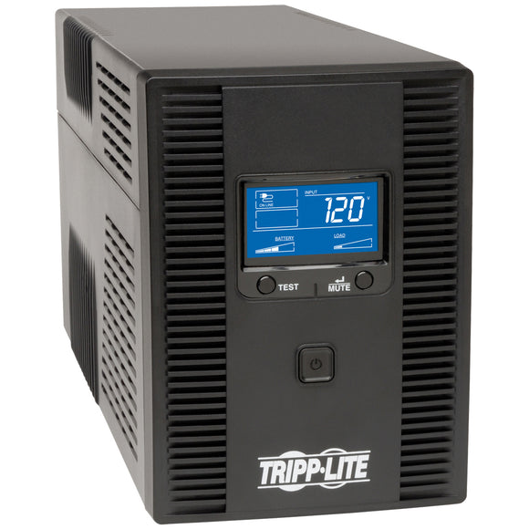 Tripp Lite UPS Smart 1500VA 900W Tower LCD Battery Back Up AVR Coax RJ45 USB