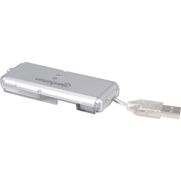 Manhattan - Strategic Manhattan Hi-speed Usb Pocket Hub, 4-port, Bus Power