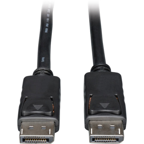 Tripp Lite 25ft DisplayPort Cable with Latches Video - Audio DP 4K x 2K M-M ->  -> May Require Up to 5 Business Days to Ship -> May Require up to 5 Business Days to Ship
