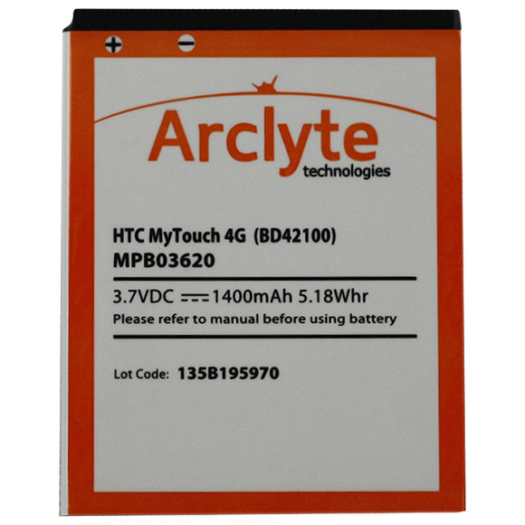 Arclyte HTC Batt Droid Thunderbolt; Incredible