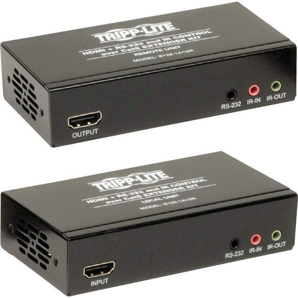 Tripp Lite HDMI + IR + Serial RS232 over Cat5 Cat6 Active Video Extender TAA GSA