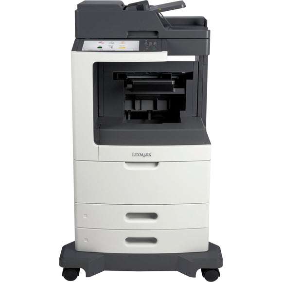 Lexmark MX810 MX810DFE Laser Multifunction Printer - Monochrome