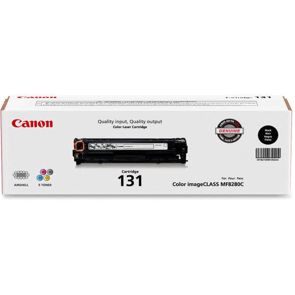 Canon Usa Canon Cartridge 131 Black Toner - For Canon Imageclass Mf624cw, Mf628cw, Mf8280c