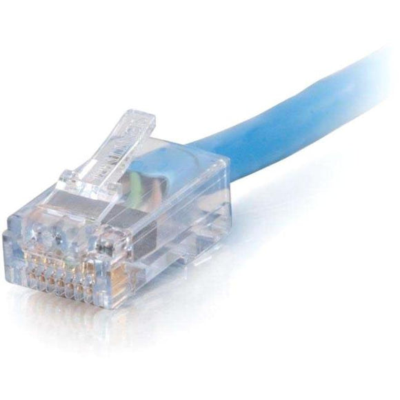 C2G-15ft Cat6 Non-Booted Network Patch Cable (Plenum-Rated) - Blue