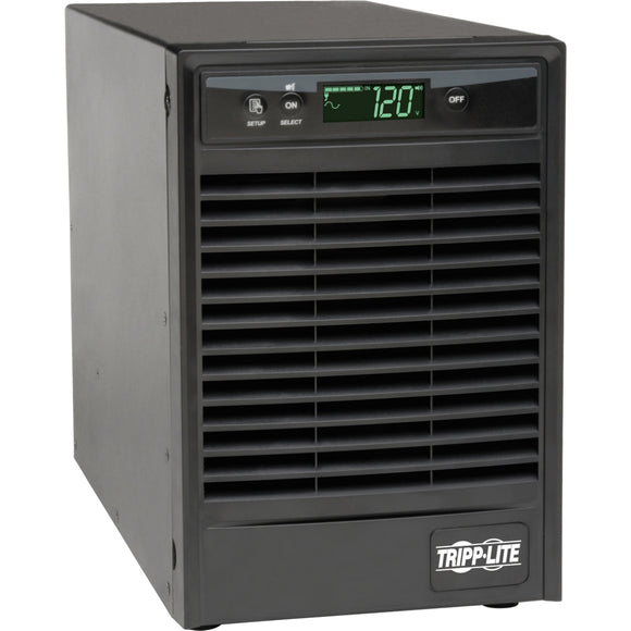 Tripp Lite UPS Smart Online 1000VA 900W Tower 120V Extended Run LCD USB DB9