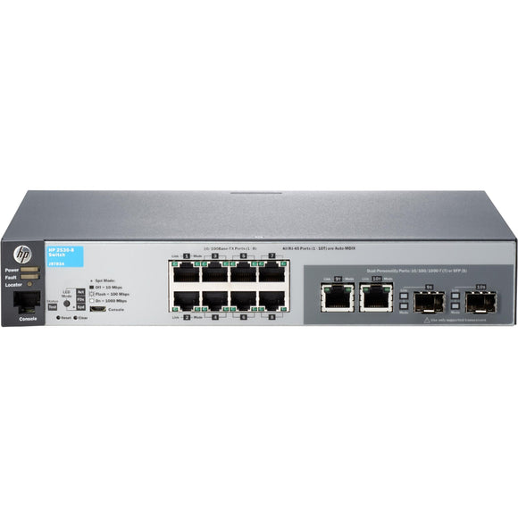 HPE 2530-8 Ethernet Switch