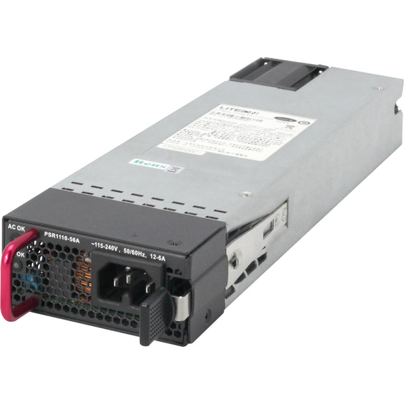 HPE X362 1110W 115-240VAC to 56VDC PoE Power Supply