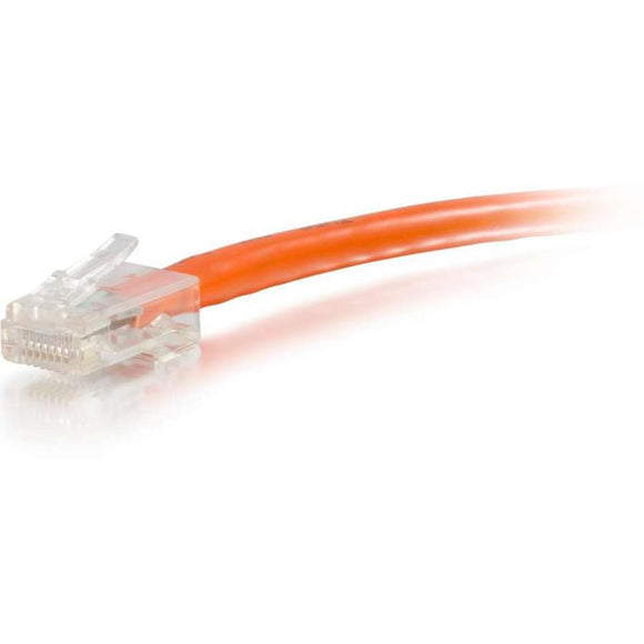 Legrand C2g 10ft Cat6 Non-booted Unshielded (utp) Network Patch Cable - Orange