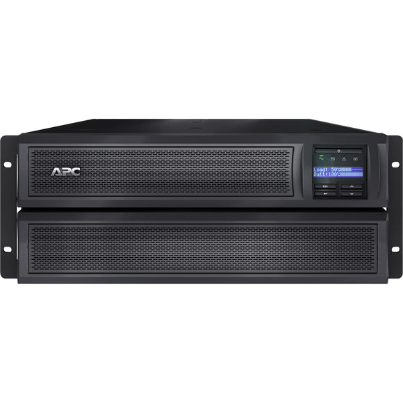 APC by Schneider Electric Smart-UPS X 2000VA Rack-Tower LCD 100-127V with Network Card