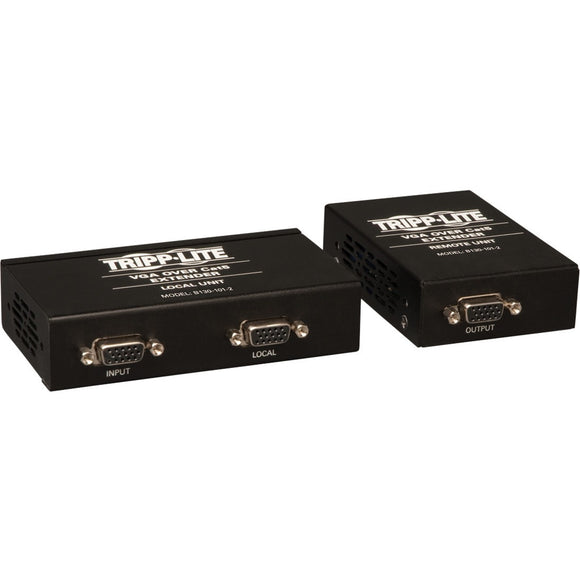 Tripp Lite VGA over Cat5-Cat6 Video Extender Kit Transmitter-Receiver EDID 1000'