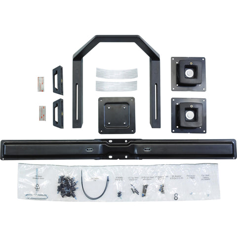 Ergotron Dual Monitor & Handle Kit.convert A Single-monitor Mount So It Holds Tw