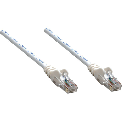 Intellinet Network Solutions Cat5e UTP Network Patch Cable, 10 ft (3.0 m), White